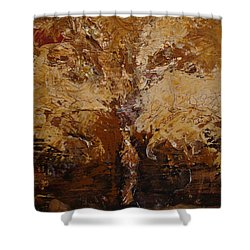 Harvest Shower Curtain by Holly Picano