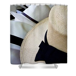 Hats Off To You Shower Curtain by Lainie Wrightson