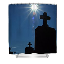 Have Faith... Shower Curtain by Karol Livote