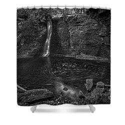 Hayden Swirls  Shower Curtain by James Dean