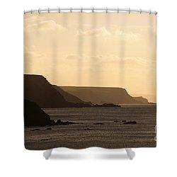 Headland Shower Curtain by Anne Gilbert