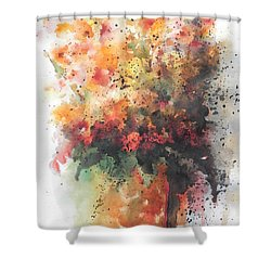 Healing Shower Curtain by Chrisann Ellis