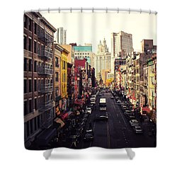 Heart Of It All Shower Curtain by Vivienne Gucwa