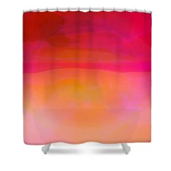 Heat Shower Curtain by Pauli Hyvonen