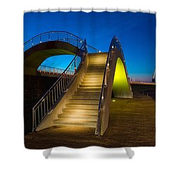 Heavenly Stairs Shower Curtain by Chad Dutson