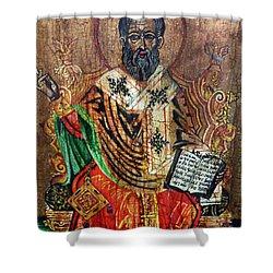 Herod Antipas Shower Curtain by Ryszard Sleczka