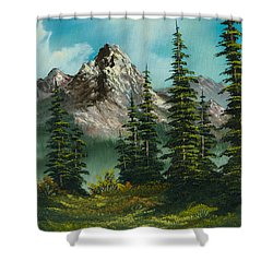 High Meadow Shower Curtain by C Steele