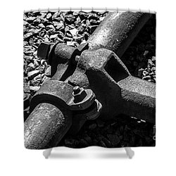 High Pressure Mining Shower Curtain by Bob and Nadine Johnston