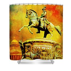 Historic Centre Of Saint Petersburg And Related Groups Of Monuments Shower Curtain by Catf