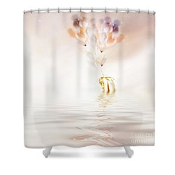 Hold On To Hope Shower Curtain by Jacky Gerritsen