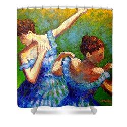 Homage To Degas Shower Curtain by John  Nolan