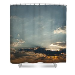 Home Bound  Shower Curtain by Paul Job