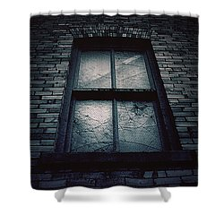 Home I'll Never Be Shower Curtain by Trish Mistric