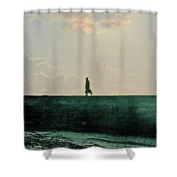 Homeward Bound Shower Curtain by Terri Waters