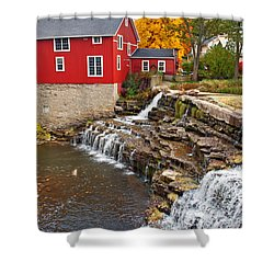 Honeoye Falls 1 Shower Curtain by Aimee L Maher Photography and Art Visit ALMGallerydotcom