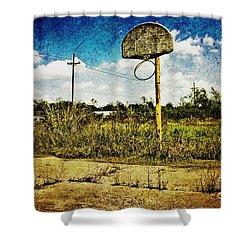 Hoop Dreams Shower Curtain by Scott Pellegrin
