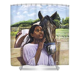 Hope For Tomorrow Shower Curtain by Colin Bootman