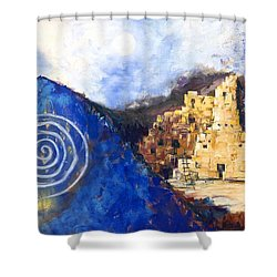 Hopi Spirit Shower Curtain by Jerry McElroy