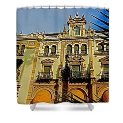 Hotel Alfonso Xiii - Seville Shower Curtain by Juergen Weiss