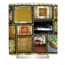 How To Make Your Own Vegan Lasagne Shower Curtain by Ausra Huntington nee Paulauskaite