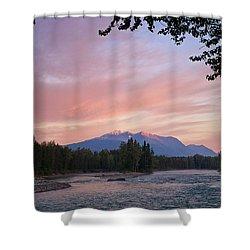 Hudson Bay Mountain British Columbia Shower Curtain by Mary Lee Dereske