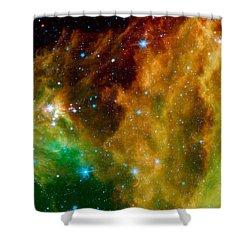 Hunter Constellation Shower Curtain by Sebastian Musial