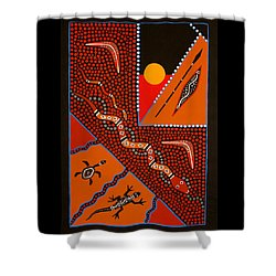 Hunting Grounds Part 2 Shower Curtain by Sharon Atkinson