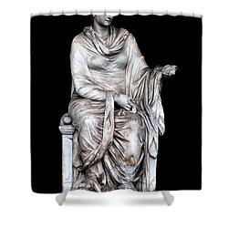 Hygieia Shower Curtain by Fabrizio Troiani