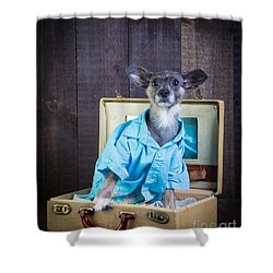 I Need A Vacation Shower Curtain by Edward Fielding