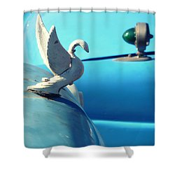 I Want A Ticket To Go Anywhere  Shower Curtain by A Rey