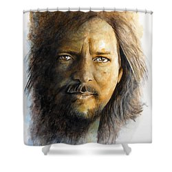 I'm Still Alive Shower Curtain by William Walts