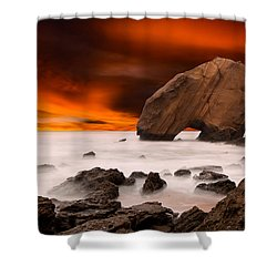 Imagine Shower Curtain by Jorge Maia