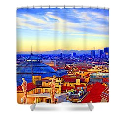 Impressionistic Photo Paint Gs 011 Shower Curtain by Catf