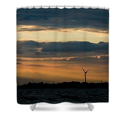 In The Spotlight Shower Curtain by Mark Papke