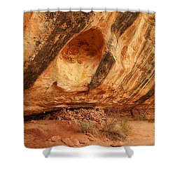 Indian Ruins  Shower Curtain by Jeff Swan