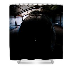 Indoors Shower Curtain by Paul Job