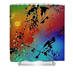 Infinite M Shower Curtain by Ryan Burton