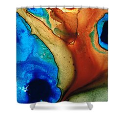 Infinity Of Life Shower Curtain by Sharon Cummings