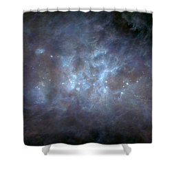 Shower Curtain featuring the photograph Infrared View Of Cygnus Constellation by Science Source
