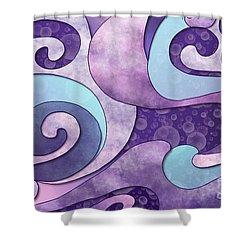 Inner Wisdom - Sagesse Interieure Shower Curtain by Louise Lamirande
