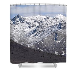 Inside Denali National Park 2 Shower Curtain by Tara Lynn