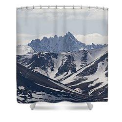 Inside Denali National Park Shower Curtain by Tara Lynn