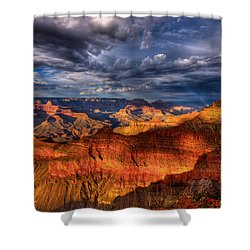 Inspiration Shower Curtain by Beth Sargent