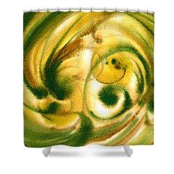 Inspiration Two B Shower Curtain by Irina Sztukowski