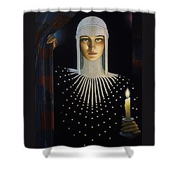 Intrique Shower Curtain by Jane Whiting Chrzanoska