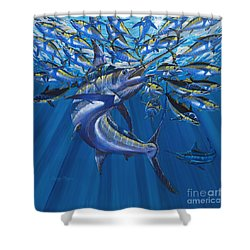 Intruder Off003 Shower Curtain by Carey Chen