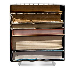 iPhone Case - Pile Of Books Shower Curtain by Alexander Senin