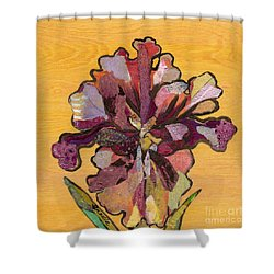 Iris I Series II Shower Curtain by Shadia Derbyshire