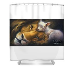 Isaiah Shower Curtain by Charice Cooper