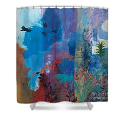 It Ain't A Fable Baby Shower Curtain by Robin Maria  Pedrero